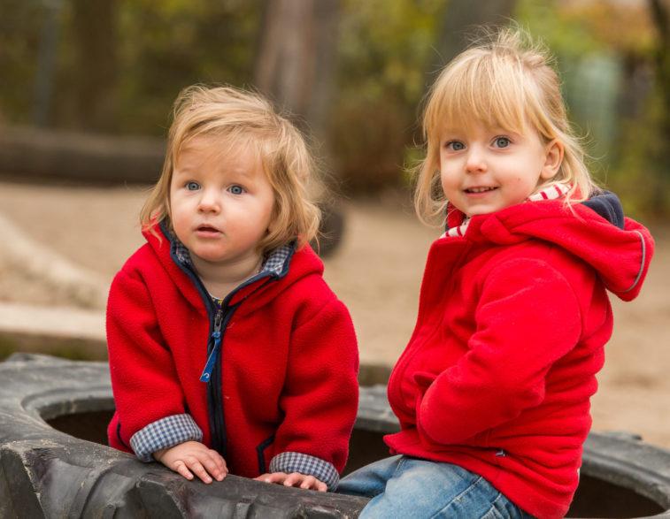 Kindergartenfotografie - Geschwisterkinder