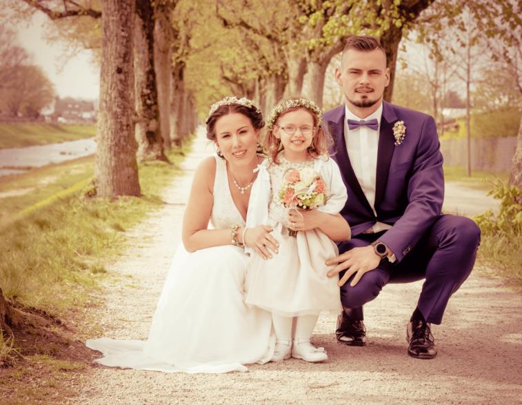 Hochzeitsfotografie - little family