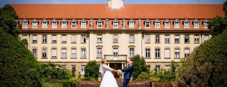 Hochzeitsfotografie am Kloster Erlenbad