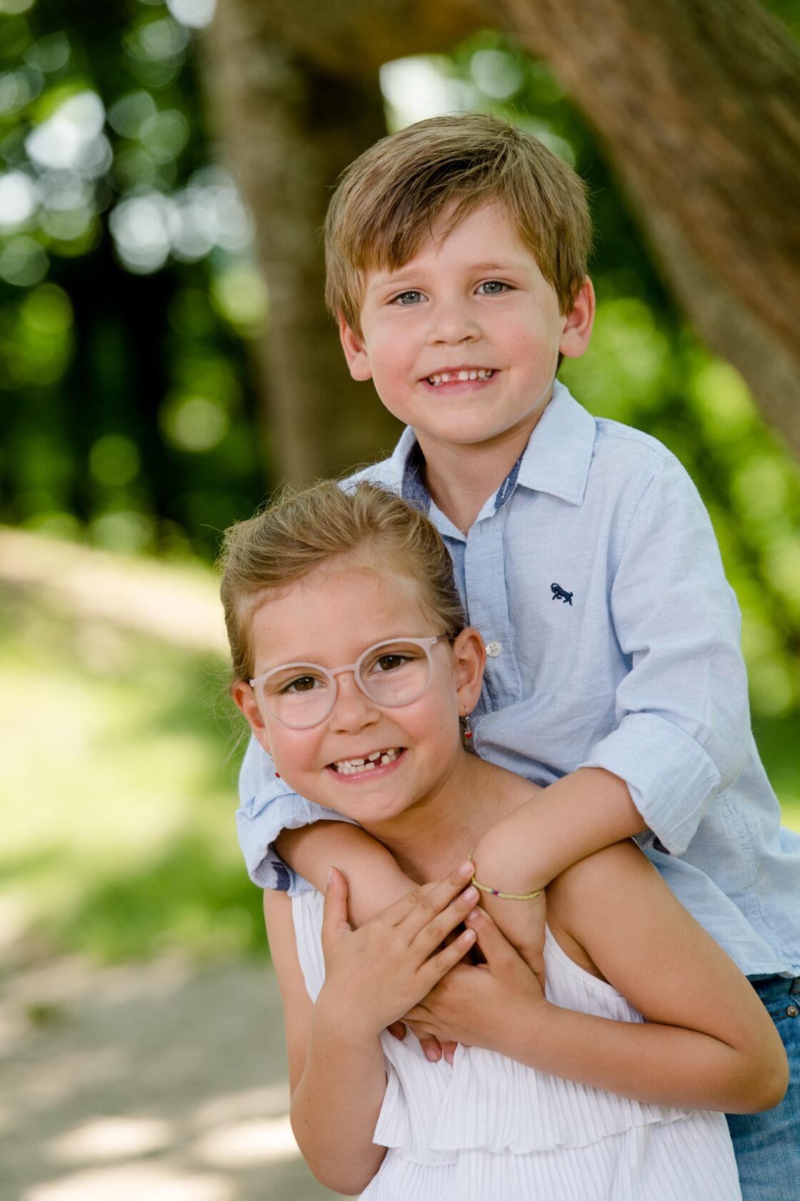 Kindergartenfotografie - Geschwister
