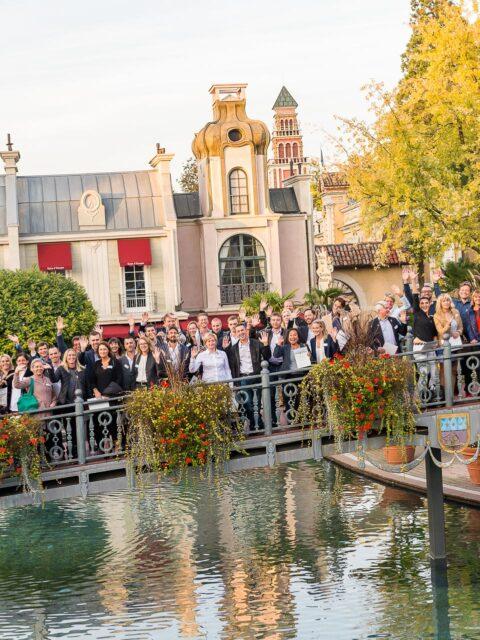 Firmenfotografie - Gruppenfoto - Meeting im Europapark