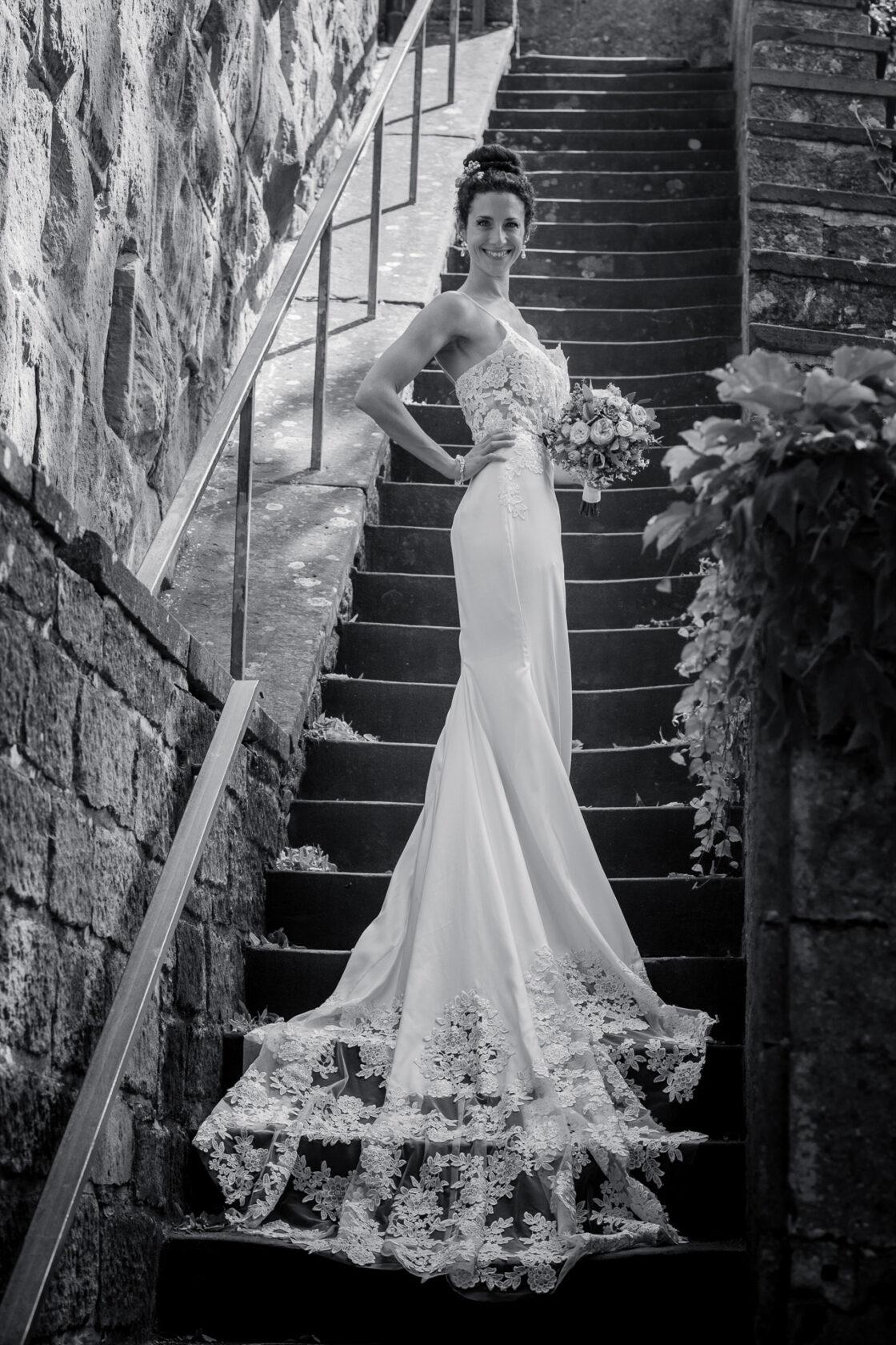 Hochzeitsfotografie auf Schloss Ortenberg